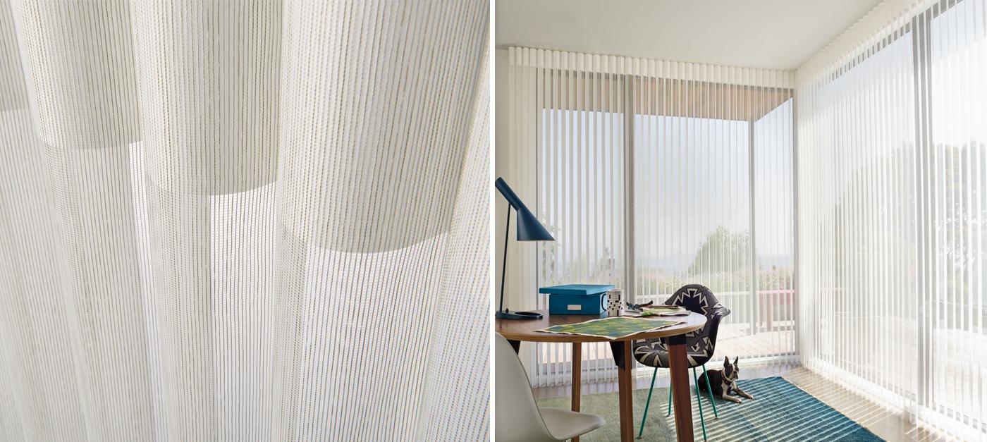 Sophisticated Hunter Douglas Sheer Window Shadings In New