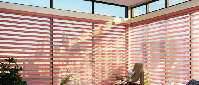Hunter Douglas Pirouette® Window Shadings Satin Metallic