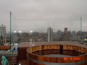 Broadway Hot Tub Enclosure