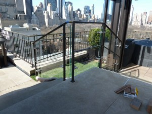 4 East 66 St. Penthouse Glass Railings 011