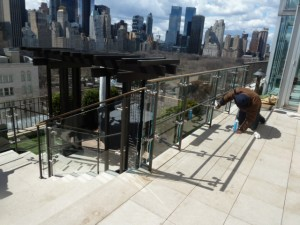 4 East 66 St. Penthouse Glass Railings 016
