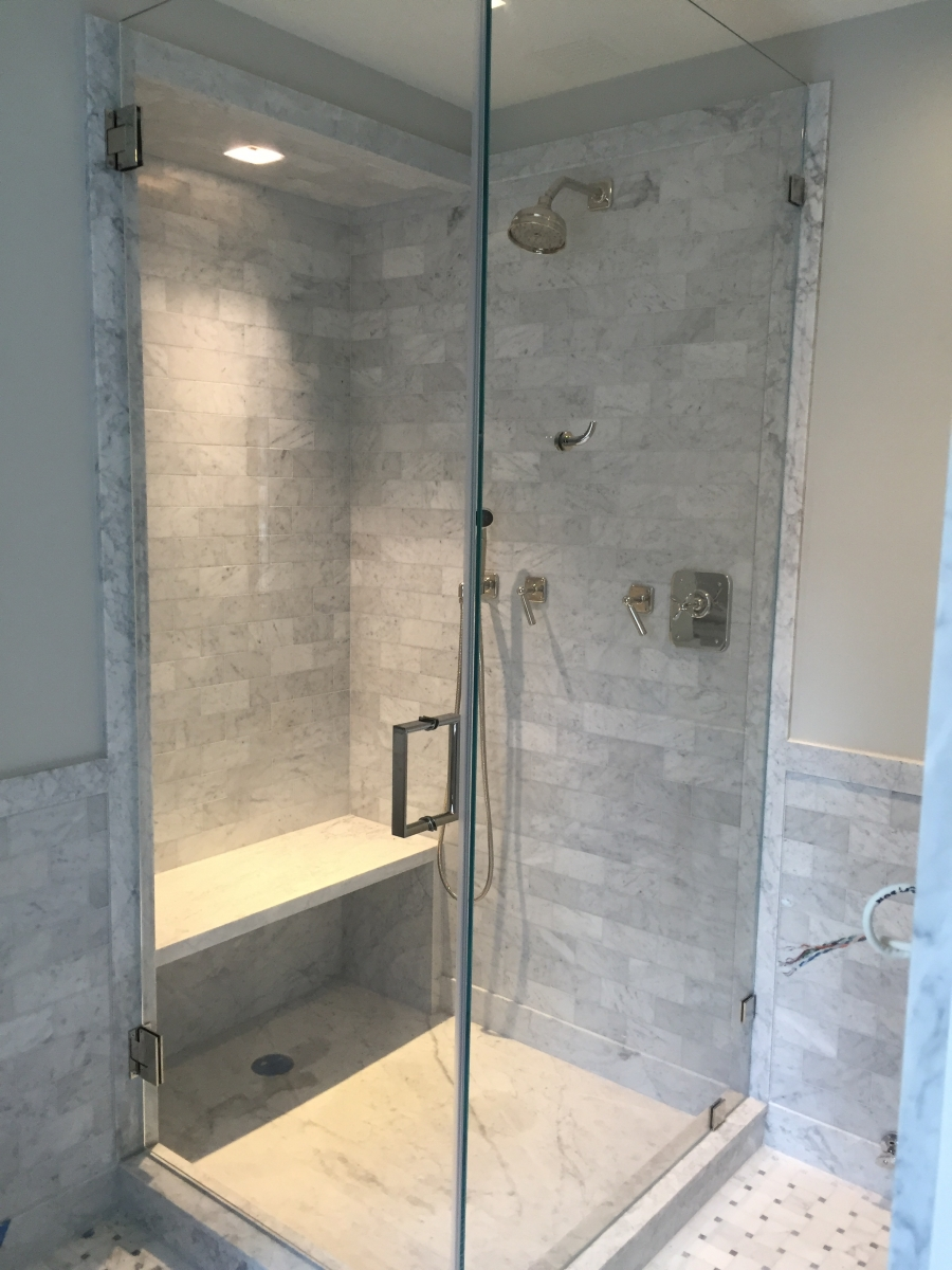 Custom Shower Enclosures At Our New York Ny Window Treatment Store