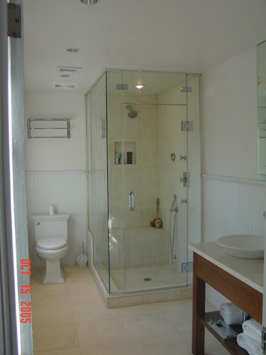 Nice Custom Shower Enclosure Kits Model - Bathroom with Bathtub ...